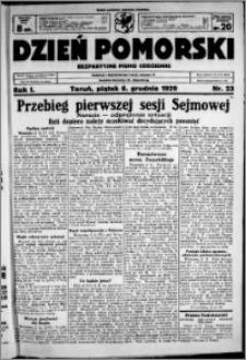 Dzień Pomorski, 1929.12.06, R. 1 nr 23