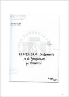 Cegielska Salomea