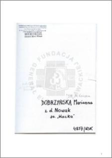 Dobrzyńska Marianna