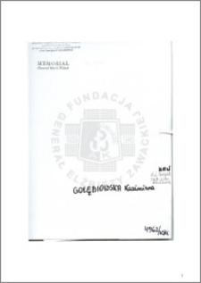 Gołębiowska Kazimiera