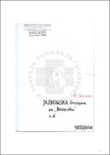 Jazdowska Grażyna