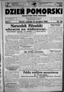 Dzień Pomorski, 1929.12.14, R. 1 nr 30