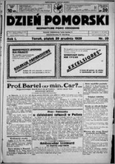 Dzień Pomorski, 1929.12.20, R. 1 nr 35