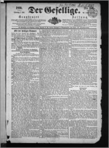Der Gesellige : Graudenzer Zeitung 1890.07.01, Jg. 64, No. 150