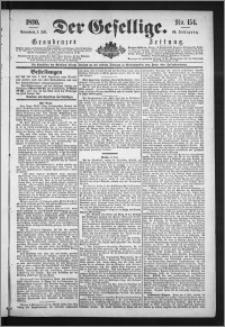 Der Gesellige : Graudenzer Zeitung 1890.07.05, Jg. 64, No. 154