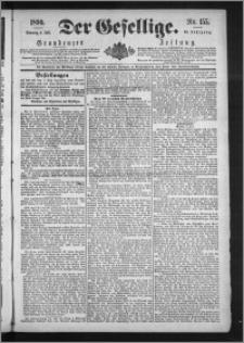 Der Gesellige : Graudenzer Zeitung 1890.07.06, Jg. 64, No. 155