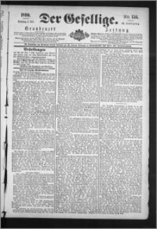 Der Gesellige : Graudenzer Zeitung 1890.07.08, Jg. 64, No. 156