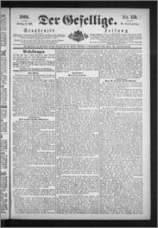 Der Gesellige : Graudenzer Zeitung 1890.07.11, Jg. 65, No. 159