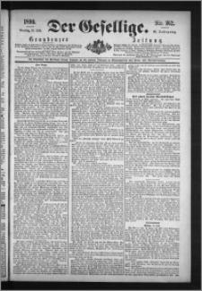 Der Gesellige : Graudenzer Zeitung 1890.07.15, Jg. 65, No. 162