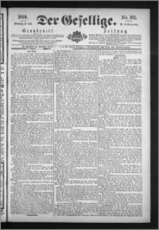Der Gesellige : Graudenzer Zeitung 1890.07.16, Jg. 65, No. 163
