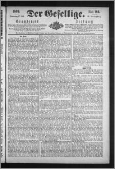 Der Gesellige : Graudenzer Zeitung 1890.07.17, Jg. 65, No. 164