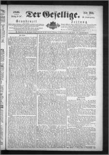 Der Gesellige : Graudenzer Zeitung 1890.07.18, Jg. 65, No. 165