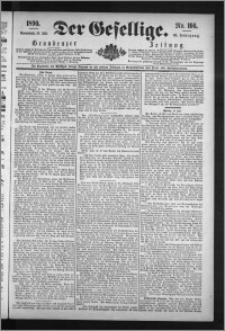 Der Gesellige : Graudenzer Zeitung 1890.07.19, Jg. 65, No. 166