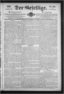 Der Gesellige : Graudenzer Zeitung 1890.07.22, Jg. 65, No. 168