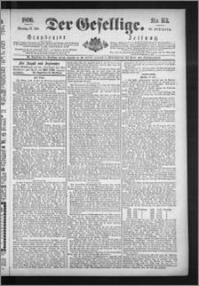 Der Gesellige : Graudenzer Zeitung 1890.07.27, Jg. 65, No. 173