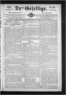 Der Gesellige : Graudenzer Zeitung 1890.07.29, Jg. 65, No. 174