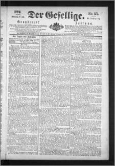 Der Gesellige : Graudenzer Zeitung 1890.07.30, Jg. 65, No. 175