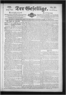 Der Gesellige : Graudenzer Zeitung 1890.08.01, Jg. 65, No. 177