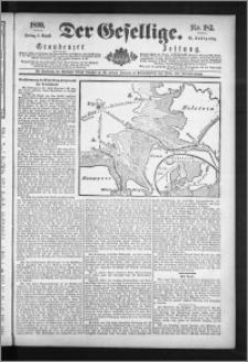 Der Gesellige : Graudenzer Zeitung 1890.08.08, Jg. 65, No. 183