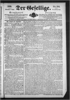 Der Gesellige : Graudenzer Zeitung 1890.08.09, Jg. 65, No. 184