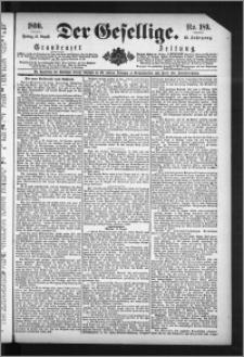 Der Gesellige : Graudenzer Zeitung 1890.08.15, Jg. 65, No. 189