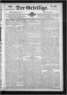 Der Gesellige : Graudenzer Zeitung 1890.09.11, Jg. 65, No. 212