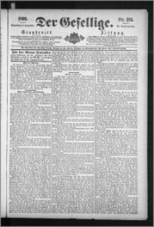 Der Gesellige : Graudenzer Zeitung 1890.09.13, Jg. 65, No. 214