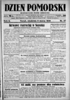 Dzień Pomorski, 1930.03.09, R. 2 nr 57