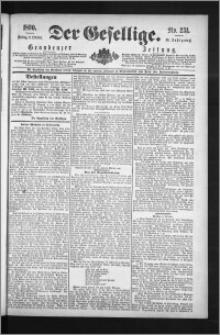 Der Gesellige : Graudenzer Zeitung 1890.10.03, Jg. 65, No. 231