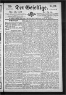 Der Gesellige : Graudenzer Zeitung 1890.10.10, Jg. 65, No. 237