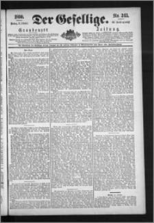 Der Gesellige : Graudenzer Zeitung 1890.10.17, Jg. 65, No. 243