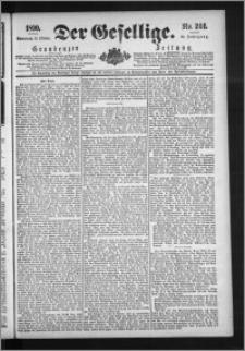 Der Gesellige : Graudenzer Zeitung 1890.10.18, Jg. 65, No. 244