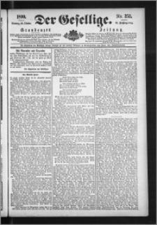Der Gesellige : Graudenzer Zeitung 1890.10.28, Jg. 65, No. 252