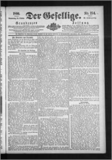 Der Gesellige : Graudenzer Zeitung 1890.10.30, Jg. 65, No. 254