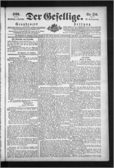 Der Gesellige : Graudenzer Zeitung 1890.11.01, Jg. 65, No. 256