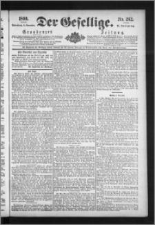 Der Gesellige : Graudenzer Zeitung 1890.11.08, Jg. 65, No. 262