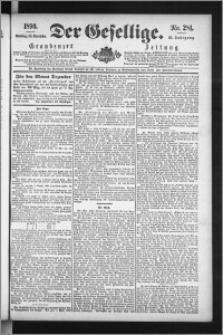 Der Gesellige : Graudenzer Zeitung 1890.11.30, Jg. 65, No. 281