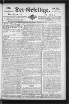 Der Gesellige : Graudenzer Zeitung 1890.12.02, Jg. 65, No. 282