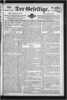 Der Gesellige : Graudenzer Zeitung 1890.12.03, Jg. 65, No. 283