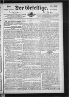 Der Gesellige : Graudenzer Zeitung 1890.12.10, Jg. 65, No. 289