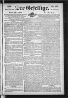 Der Gesellige : Graudenzer Zeitung 1890.12.17, Jg. 65, No. 295