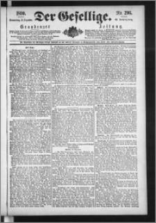 Der Gesellige : Graudenzer Zeitung 1890.12.18, Jg. 65, No. 296