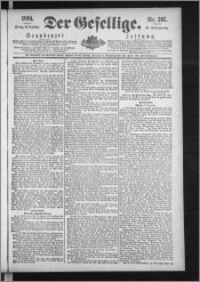 Der Gesellige : Graudenzer Zeitung 1890.12.19, Jg. 65, No. 297