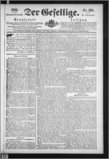 Der Gesellige : Graudenzer Zeitung 1890.12.20, Jg. 65, No. 298