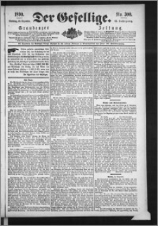 Der Gesellige : Graudenzer Zeitung 1890.12.23, Jg. 65, No. 300