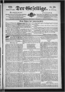 Der Gesellige : Graudenzer Zeitung 1890.12.24, Jg. 65, No. 301