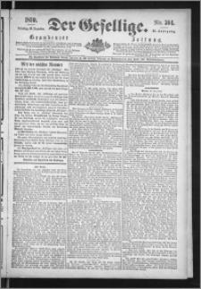 Der Gesellige : Graudenzer Zeitung 1890.12.30, Jg. 65, No. 304