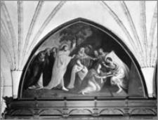 """Pelplin. Bazylika katedralna Wniebowzięcia NMP. Krużganek północny. Obraz """"Wskrzeszenie Łazarza"""""""