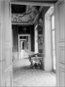 Warszawa. Pałac w Wilanowie. Wnętrze