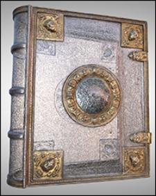 Srebrna oprawa z kolekcji Albrechta Hohenzollerna i jego żony Anny Marii - Ob.6.II.4496
